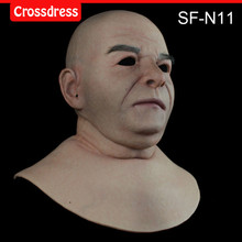 SF-N11 silicone true people mask  costume mask human face mask silicone dropshipping
