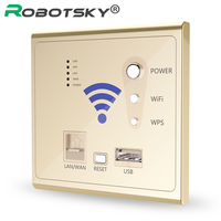 USB wall socket built AP Wireless Router USB wifi phone wall charger charging socket panel 3G outlet wifi wall switches