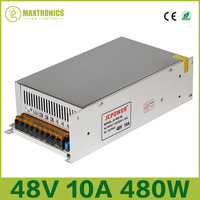 Best price 48V 10A 480W Universal Regulated Switching Power Supply for CCTV Led Radio Free shipping