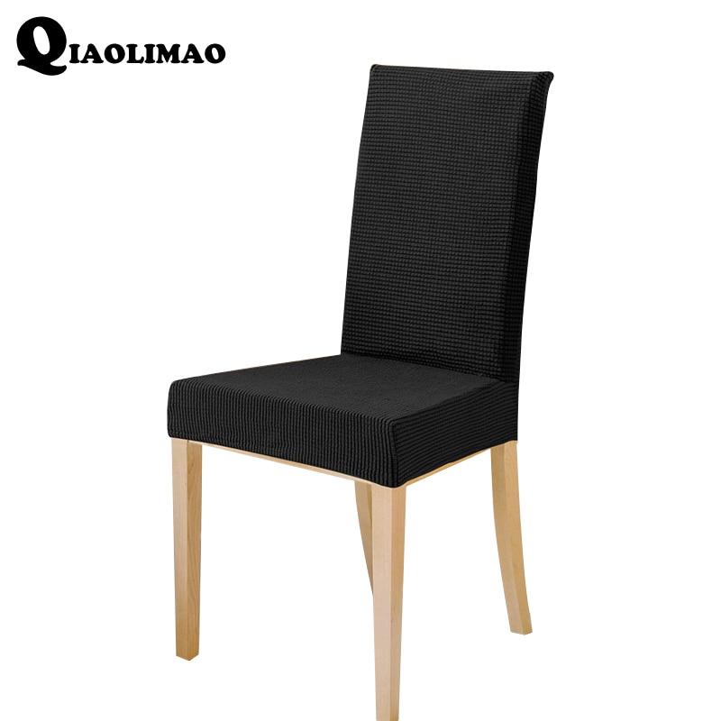 2018 флисовый чехол для стула, растягивающиеся чехлы для сидений, моющиеся Чехлы для стула, защита для столовой, чехол для отеля, банкета, стол...