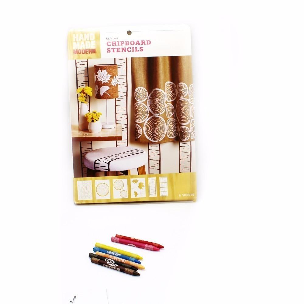 1ks Nástěnná malba Šablona Nástroj stromu Víceúčelové - Školní a vzdělávací materiály - Fotografie 3