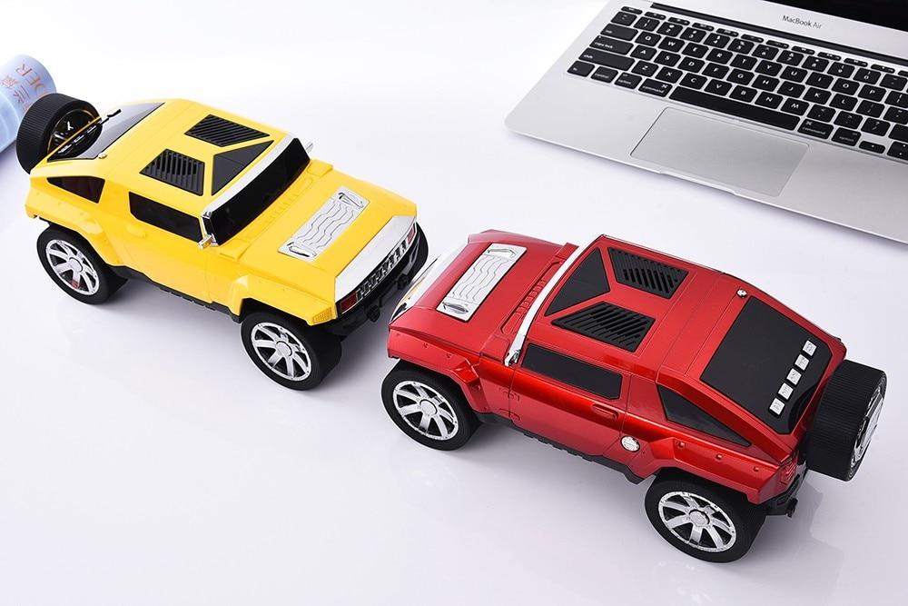 DS-580BT ג ' יפ דגם המכונית Bluetooth רמקול סטריאו Hifi נייד סאב וופר אלחוטי רמקול TF USB נגן מוזיקה MP3 רדיו FM