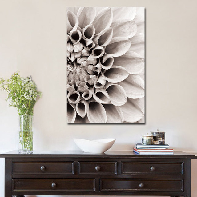 Scandinavian Flower in Blossom Wall Pictures 1