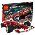 1242pcs 3335 Technic F1 Racer 1:8 Model Building Blocks minicar diecast cars automobile miniature Boys Toys Compatible with Lego