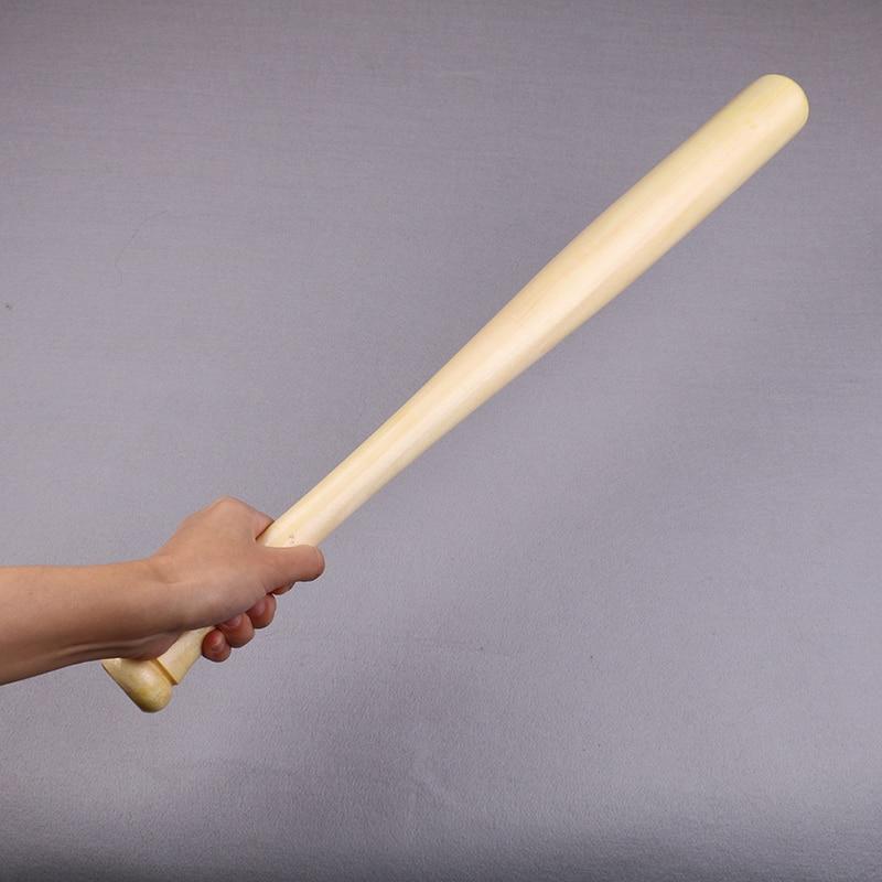Solid Wooden Baseball Bat 64cm Professional Baseball Stick Hard Wood Baseball Bat Training Outdoor Sports Fitness Equipment