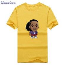 New legend ronaldinho fashion T-shirt Men's t shirt 100% cotton for fans gift 0912-6
