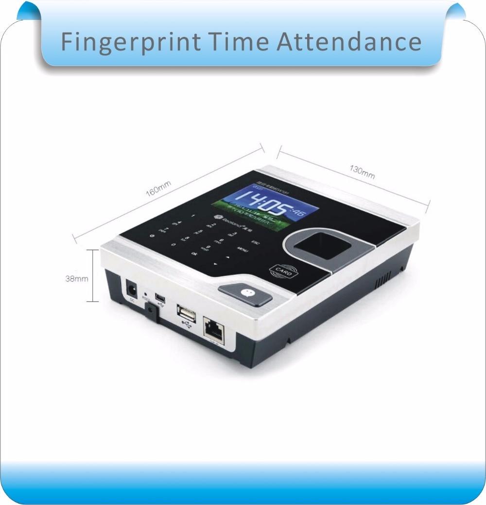 "Купить с кэшбэком W181 8 kinds language cloud service 2.8"" Screen Biometric Fingerprint Time Attendance USB Office Time Recorder +10pcs RFID"
