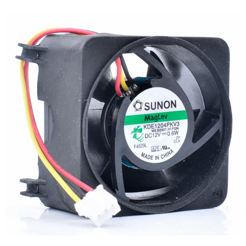 Original KDE1204PKV3 4cm 4020 <font><b>40mm</b></font> <font><b>fan</b></font> 40x40x20mm 12V 0.6W North and South Bridge switch <font><b>quiet</b></font> cooling <font><b>fan</b></font> image