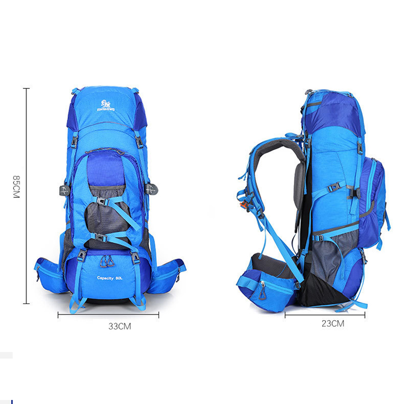 Large Capacity 80L Men Backpack Travel Male Casual Rucksack Mochila Escolar Waterproof Camping Hiking Sport Bag For Climbing