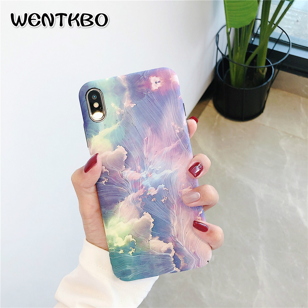 3D Rainbow Painting Luminous Phone Case For OPPO FIND X R9s R11s R15 R17 Scrub Hard Fundas Capa Cover For OPPO A57 A73 A83 A5 A3