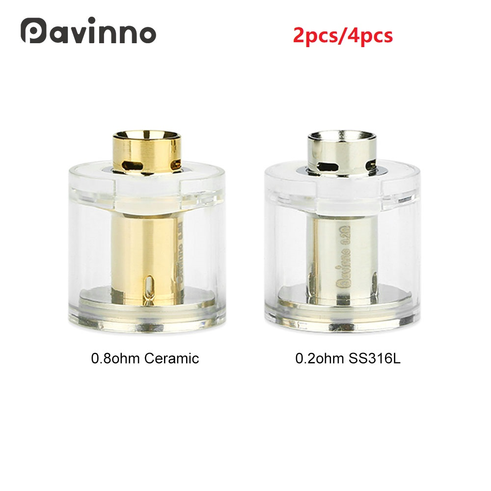 Original 2 pièces Pavinno Puro Pod 2 ml capacité pour Pavinno Puro Pod Vape Kit E-cigarette Vape accessoire système de dosette