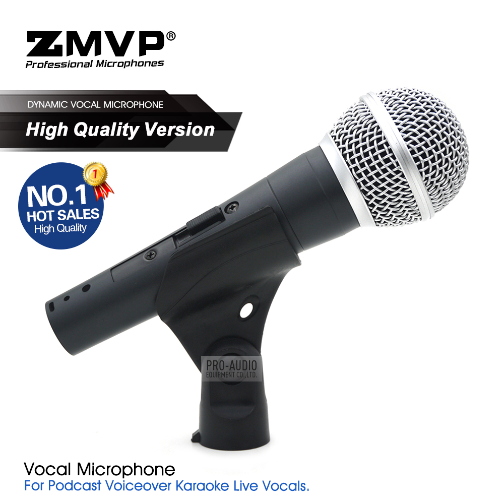 High Quality Version SM58 SM58LC SM58S Professional Cardioid Dynamic Handheld Karaoke Wired Microphone Microfone Microfono Mic