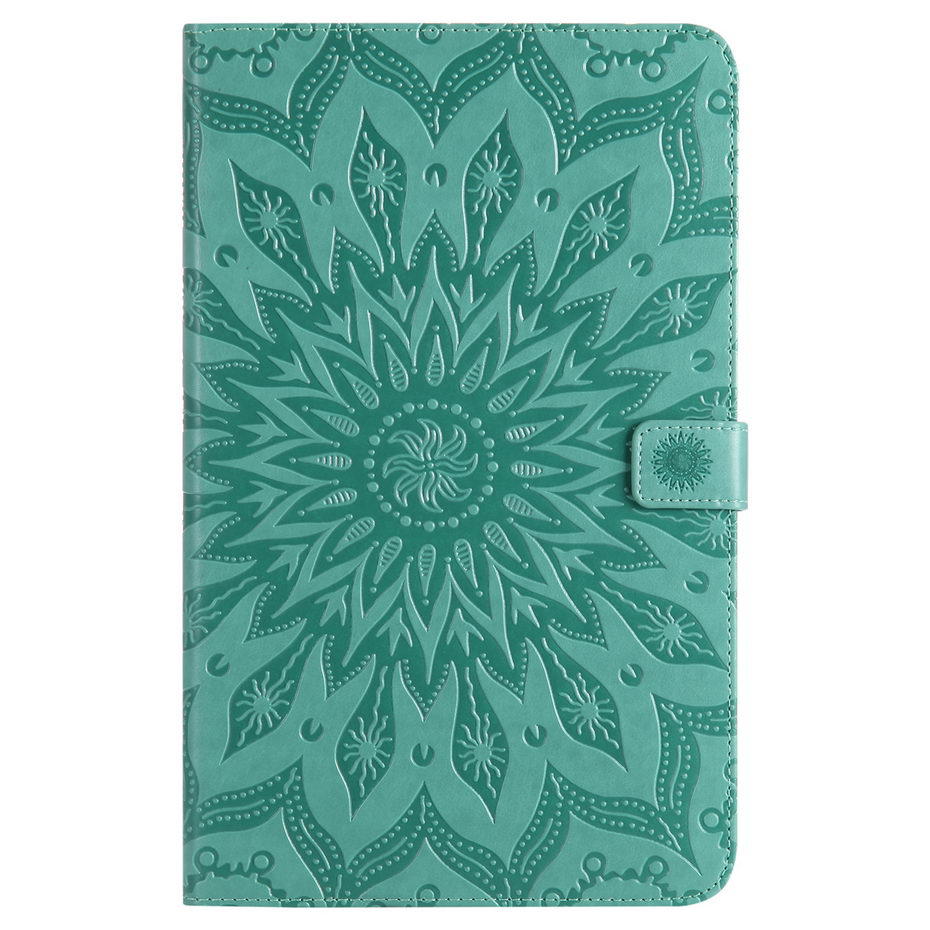 3D Sunflower Embossed PU Leather Case For Samsung Galaxy Tab A A6 10.1 2016 T580 T585 SM-T585 T580N Funda Skin Shell
