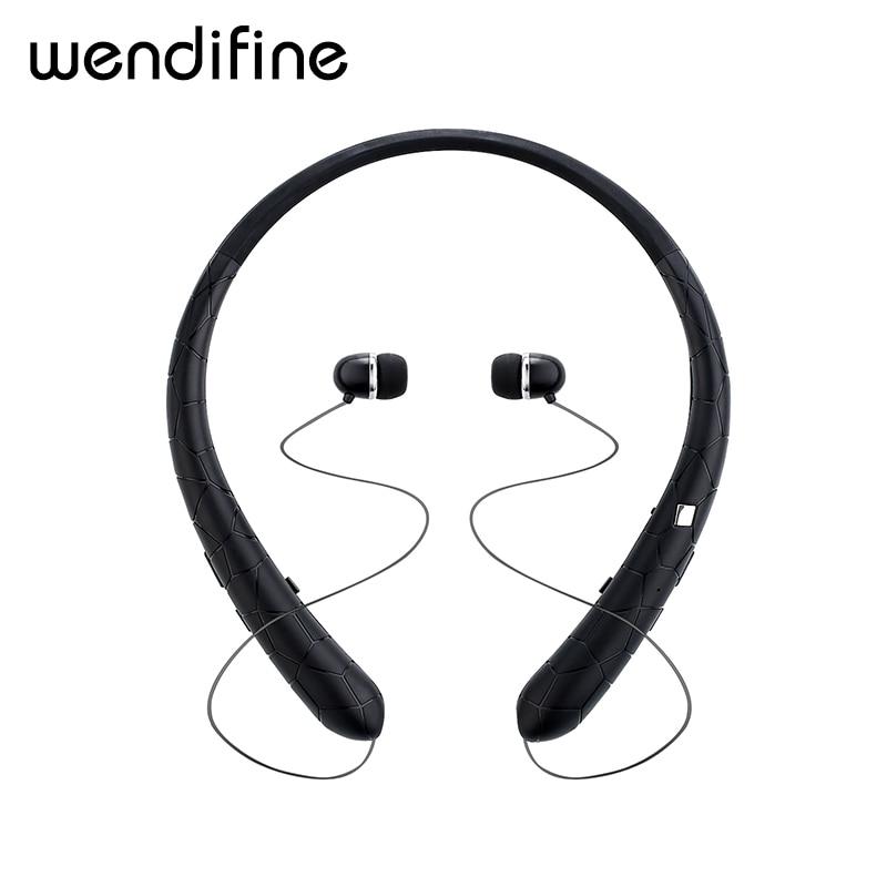 Bluetooth Headset Retractable Earbuds Neckband Sport Headphones Wireless Stereo Bluetooth Earphones with Mic For iphone xiaomi stereo bluetooth sport earphone wireless headphones bluetooth earbuds handfree headset with mic for iphone xiaomi