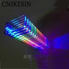 CNIKESIN Diy KS16 Fantasy crystal colonne sonore lumière cube LED musique spectre Niveau affichage électronique production DIY kits