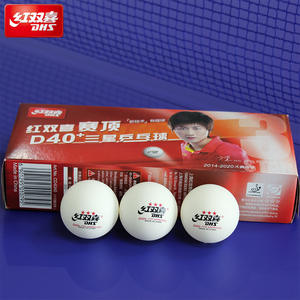Poly Table-Tennis-Balls Ping-Pong-Balls DHS 3-Star Plastic D40 Newest 10-Balls/box New-Material