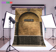 SHENGYONGBAO Vinyl Custom HarryPotter Heaven Photography Backdrops Prop Wall 9 3/4 Station Theme Background SS-9051