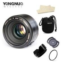 YONGNUO YN50mm f1.8 YN EF 50 мм f/1,8 AF объектив YN50 диафрагма Автофокус для Canon EOS DSLR камер