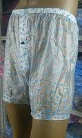 2 Piece New Soft PVC Incontinence Classic Boxer Shorts Fetish P021 11 M L XL XXL