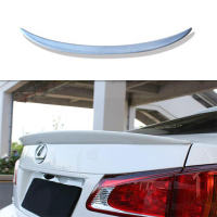 For Lexus IS250 IS350 rear trunk wing spoiler Unpainted PU 2005~2012