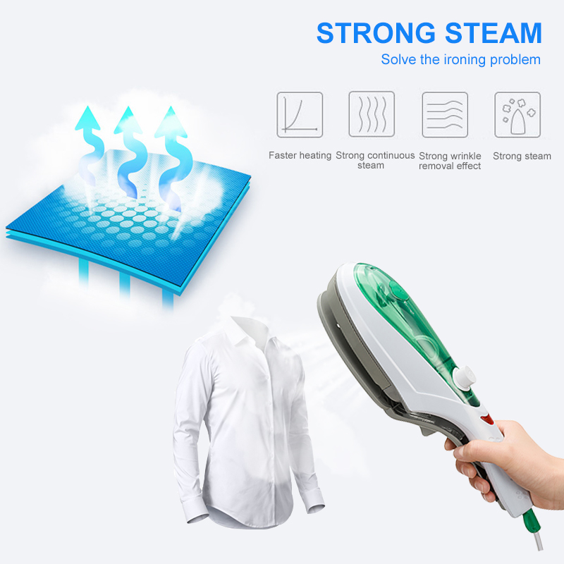 Image 4 - ANIMORE Handheld Garment Steamer Brush  Steam Iron For Clothes Generator Ironing Steamer For Portable Underwear Steamer Iron-in Garment Steamers from Home Appliances