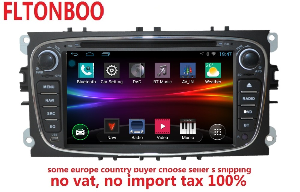 7inch Android 8 0 for ford focus 2 mondeo font b car b font DVD font
