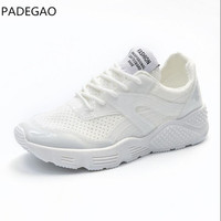 Fashion Breathable Air Mesh Women Casual Shoes Lightweight Platform Shoes Summer Women Shoes Height Increase Swing