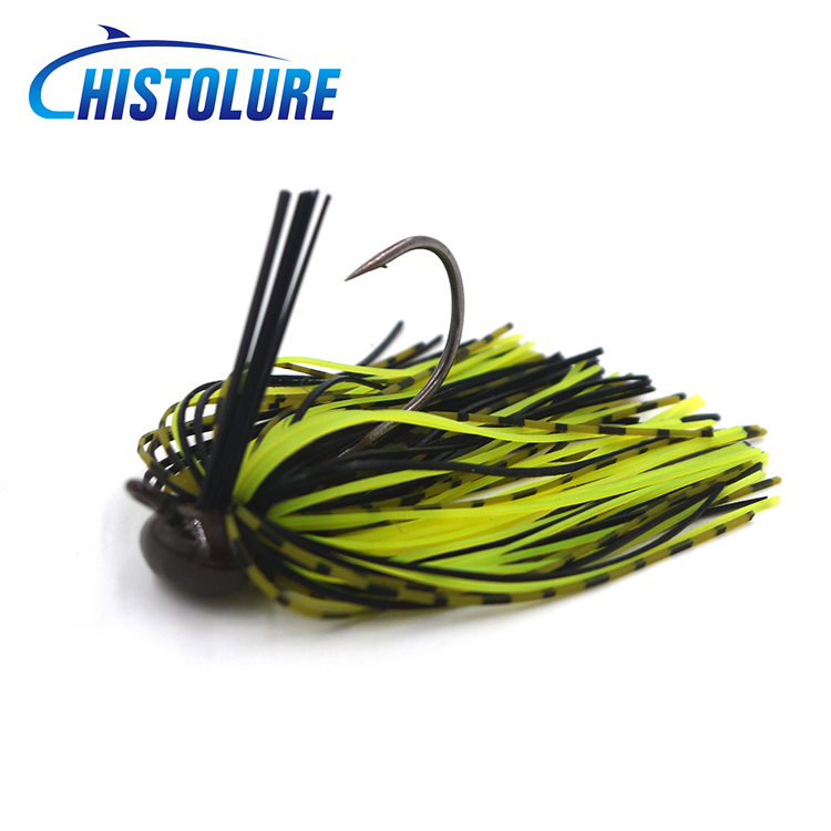 MC&LURE 1pcs fly winning jig Baits Spinner Fishing Lure  10g  Jig Lead Head Baits Fishing Lures Single Hook lure