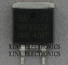 IRFS3006PBF IRFS3006 FS3006 60V/195A D2PAK TO-263 ROHS ORIGINAL 10PCS/lot  Free Shipping Electronics composition kit