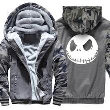 2019 winter sweatshirts Print men hoodies Jack Skellington Evil Face Men's sweatshirts tracksuit hoody Hipster худи print bar hipster