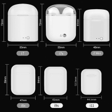 i11 air pods TWS Wireless mini Bluetooth Earbuds Headsets headphones earphone ear pods Not I7s i9s i10 For apple Andorid Iphone
