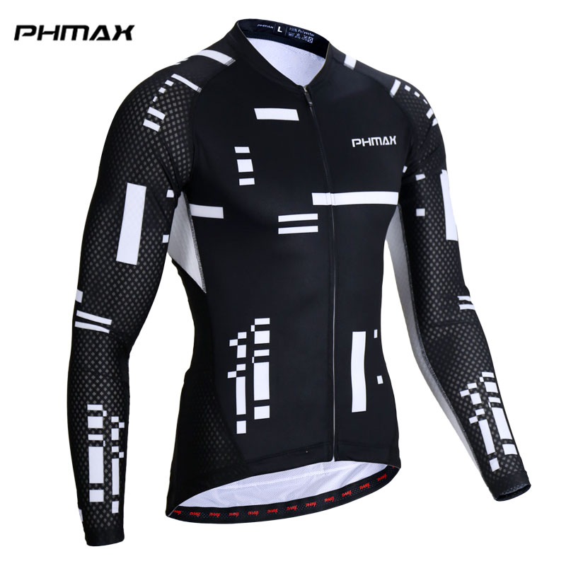 PHMAX 2018 Pro Cycling Jerseys Man Long Sleeve  Road Bike Jersey Maillot Ropa Ciclismo MTB Bicycle Clothing Jerseys