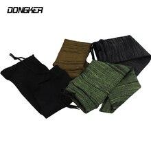 Airsoft Knitted Gun Sock Rifle Treated Drawstring Elastic Short Socks Pistol Tactical Hand Hunting Accessory 36cm*10cm