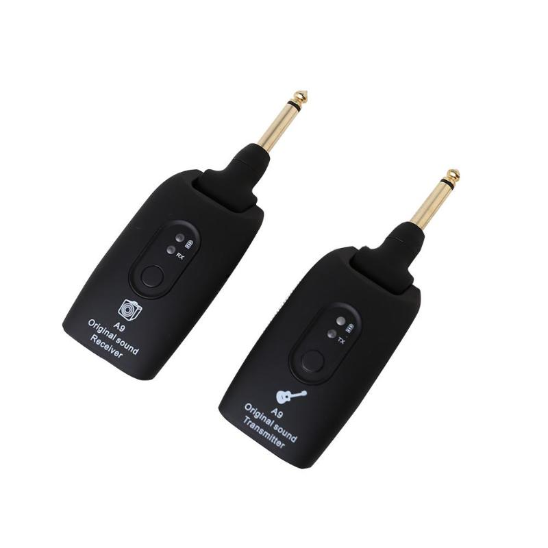 A9 Wireless Guitar System Transmitter 2.4G Audio Electric Guitar Receiver Guitar Parts & Accessories Instrumentos Musicais