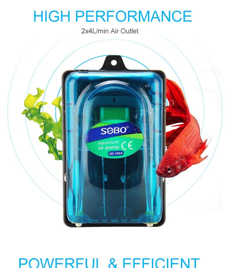 ar para aquário silencioso silencioso controle de