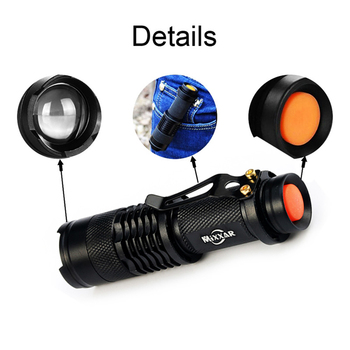 3000LM Led Flashlights Portable LED Military Tactical Police Flashlight Torch Camping Hunting Lamp Torch Night Light Lantern 4