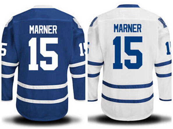 Hot Style 15 Mitch Marner Hockey Jerseys Ice Customized Blue White Mitch  Marner Jersey Men s Pure Cotton All Stitched Quality e4f66f49d35