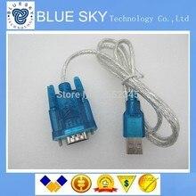Бесплатная Доставка 10 шт. HL-340 Новый USB в RS232 COM Порт Серийный PDA 9 pin DB9 Кабель-Адаптер поддержка Windows7-64