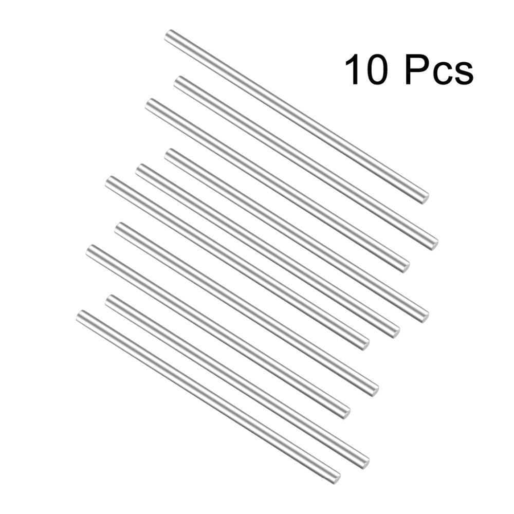 uxcell Acrylic Plexiglass Rod Square Shape PMMA Bar 0.08 x 0.08 x 10 Clear 2pcs