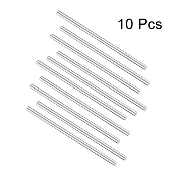 Uxcell 10Pcs Round Stainless Steel Shaft Rod 3mm 2mm Dia for DIY Toy RC Car Model Part 80mm 140mm 130mm 120mm Length цена 2017