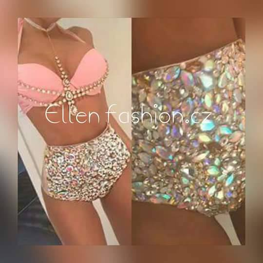 2016 venus vacation hot selling open hot girl push up bikini bling rhinestone swimwear with. Black Bedroom Furniture Sets. Home Design Ideas