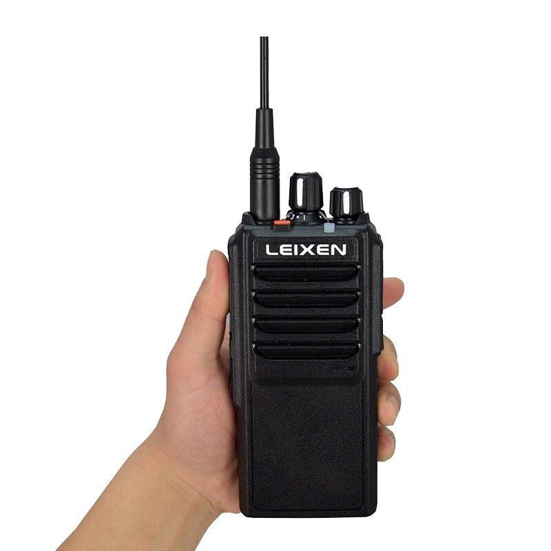 Haute Puissance LEIXEN VV-25 25 watts longue portée talkie walkie avec 12.6 v 4000 mah batterie
