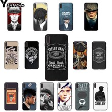 Yinuoda Peaky Blinders Cross Logo DIY Painted Beautiful Phone Accessories Case for iPhone 8 7 6 6S Plus X XS MAX 5 5S SE XR