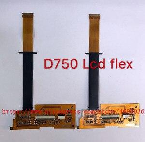 Image 1 - Nowy wał obrotowy LCD Flex Cable dla Nikon D750 części naprawa aparatu cyfrowego