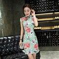 New Chinese Traditional Long Dress Women's Cheongsam Qipao Vintage Evening Wedding Dress