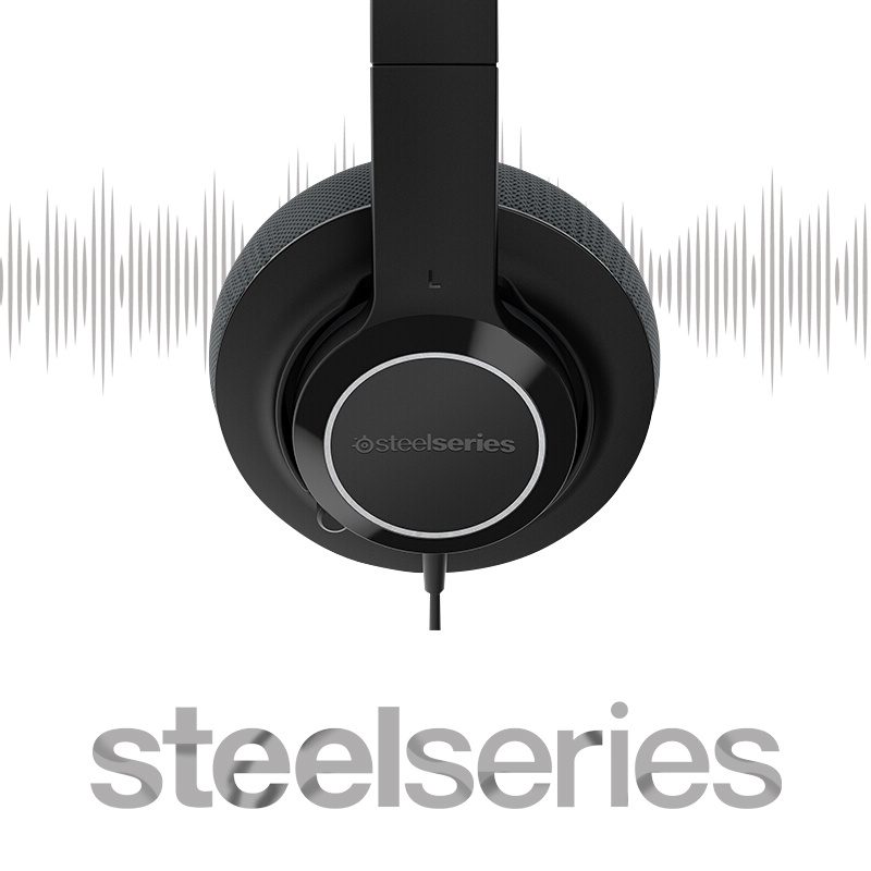 SteelSeries  Siberia X100 Xbox One bid wired chicken gameing headset headphones head-mounted headset with microphone