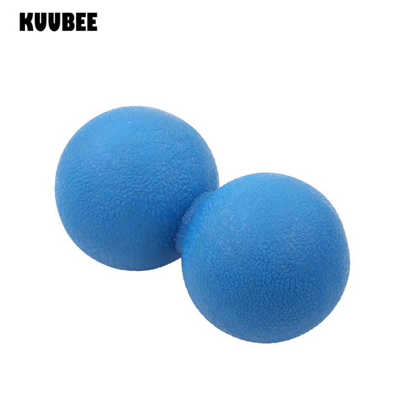 Lacrosse Ball Peanut Fascia Massage Balls Relax Relieve Fatigue Fitness Gym Training Hockey Ball