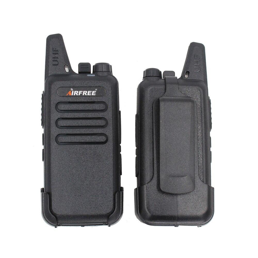 AIRFREE AP-100 KD-C1 Mini Walkie Talkie UHF 400-470 MHz Long Range Two-Way Radio Transceiver KD-C1