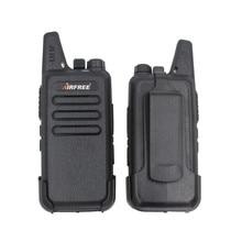 AIRFREE AP-100 KD-C1 Мини Walkie Talkie UHF 400-470 МГц long range Двусторонней Радиосвязи трансивер KD-C1
