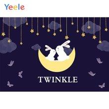 Фоны для фотосъемки yeele кролики постельное белье Мультяшные